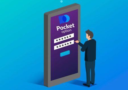 Como abrir uma conta de negociação em Pocket Option