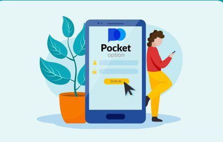 Como se inscrever e fazer login na conta no Pocket Option Broker Trading